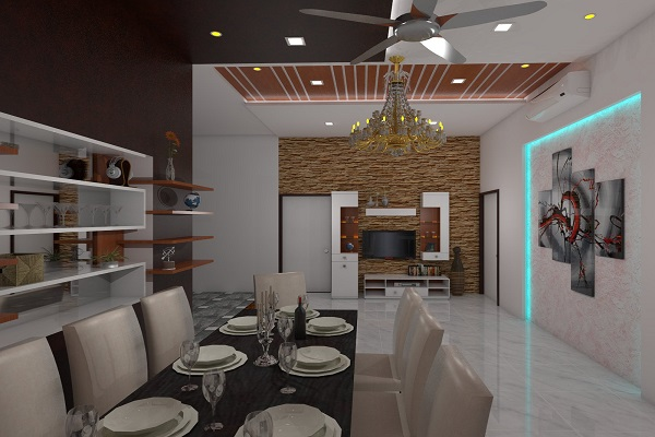 dining room interior design in pune