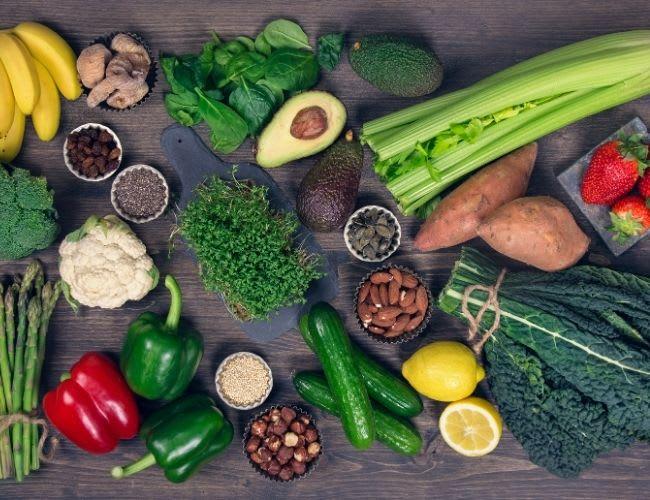 Basische Ernährung & Lebensmittel