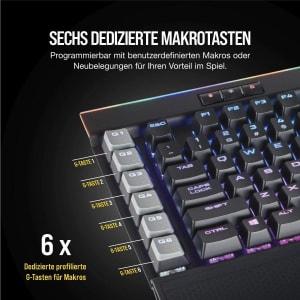 Corsair K95 RGB Platinum Mechanische Gaming Tastatur