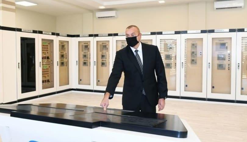 """Prezident yenidən qurulan """"Suraxanı"""" yarımstansiyasının açılışında iştirak edib"""