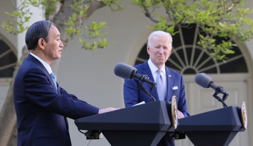 Yaponiyanın baş naziri və ABŞ prezidenti müzakirələr aparıblar