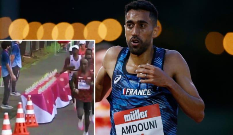 Tokio-2020: Fransalı atlet yarış zamanı su şüşələrini bilərəkdən aşırıb