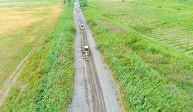 Kürdəmirdə 13 km uzunluğa malik avtomobil yolu yenidən qurulur