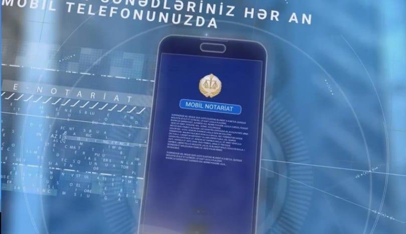 """""""Mobil notariat"""" tətbiqinə yeni xidmətlər əlavə olunacaq"""