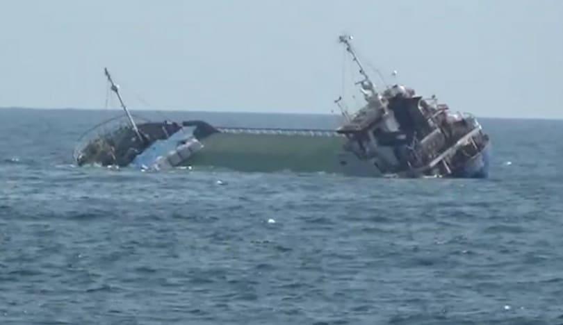 Egey dənizində gəmi batıb, 18 nəfər itkin düşüb