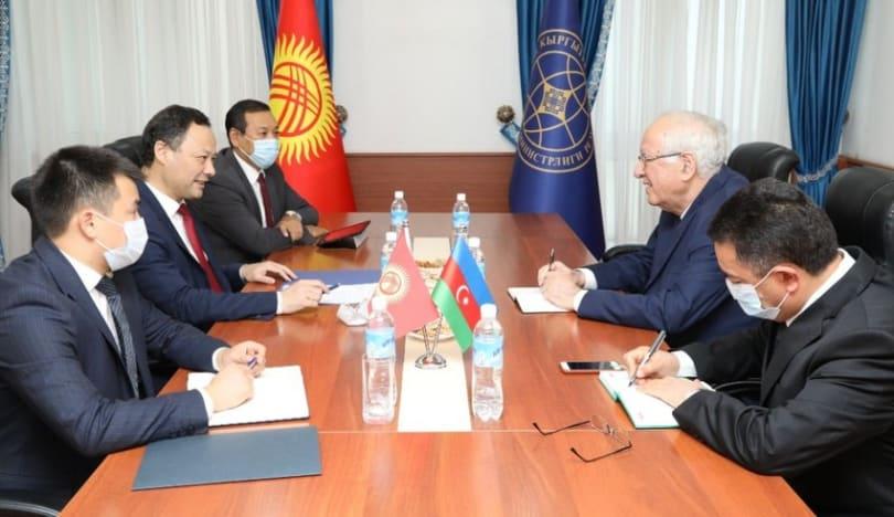 Payızda Azərbaycan-Qırğızıstan hökumətlərarası komissiyasının iclası keçiriləcək
