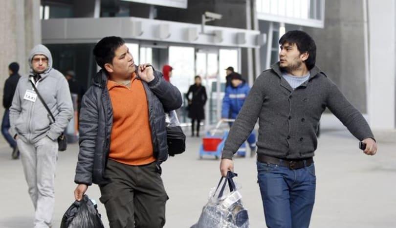 Rusiyadan səkkiz mindən artıq miqrant deportasiya edilib