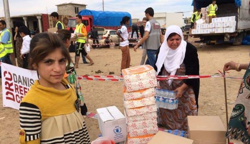 İraq və Suriyada 12 milyon nəfər humanitar fəlakətlə üzləşib