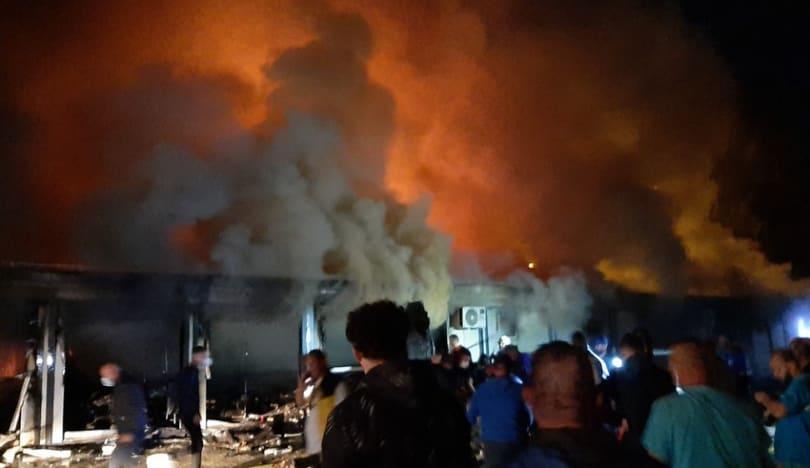 Şimali Makedoniyada COVID xəstəxanasında yanğın olub, 10 nəfər ölüb