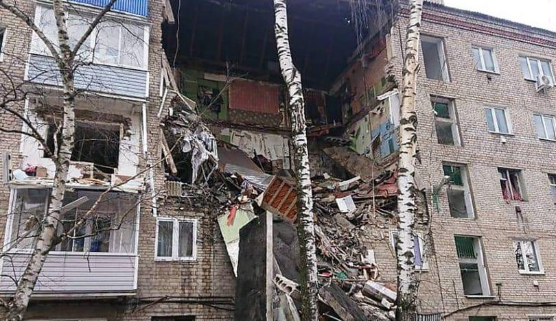 Rusiyada yaşayış binasında partlayış olub, yaralananlar var