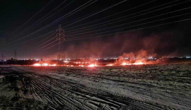 İraqda Ərbil hava limanının yaxınlığına üç raket düşüb