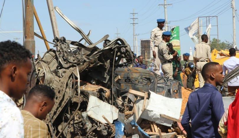 Somalidə terrorçular hava limanını dağıdıblar DİGƏR ÖLKƏLƏR