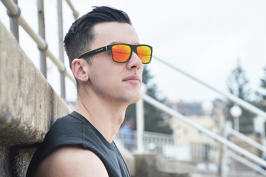 NEW Polasports Polarized Mens Sports Sunglasses 4415BR1