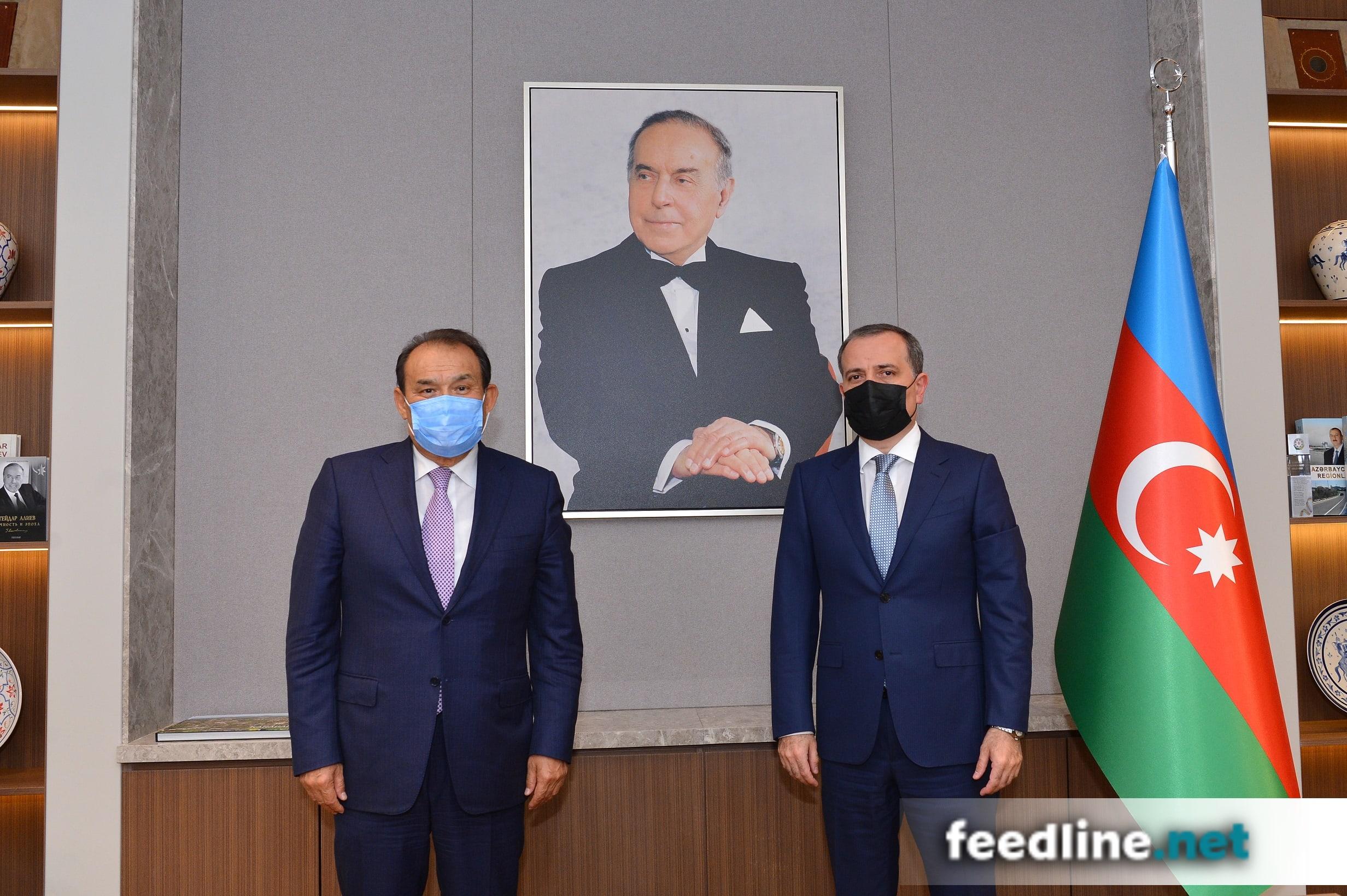 Ceyhun Bayramov Türk Şurasının baş katibini qəbul edib – FOTO
