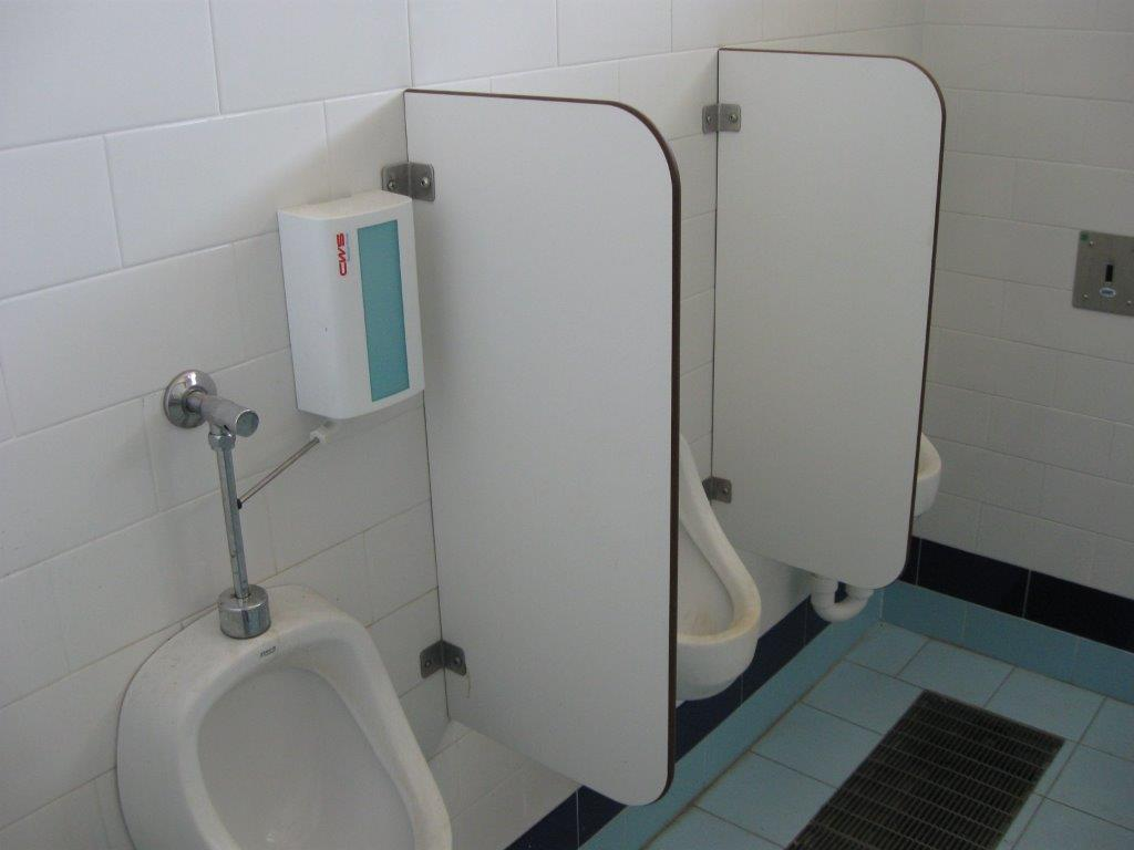 Urinal partition mod. alfa