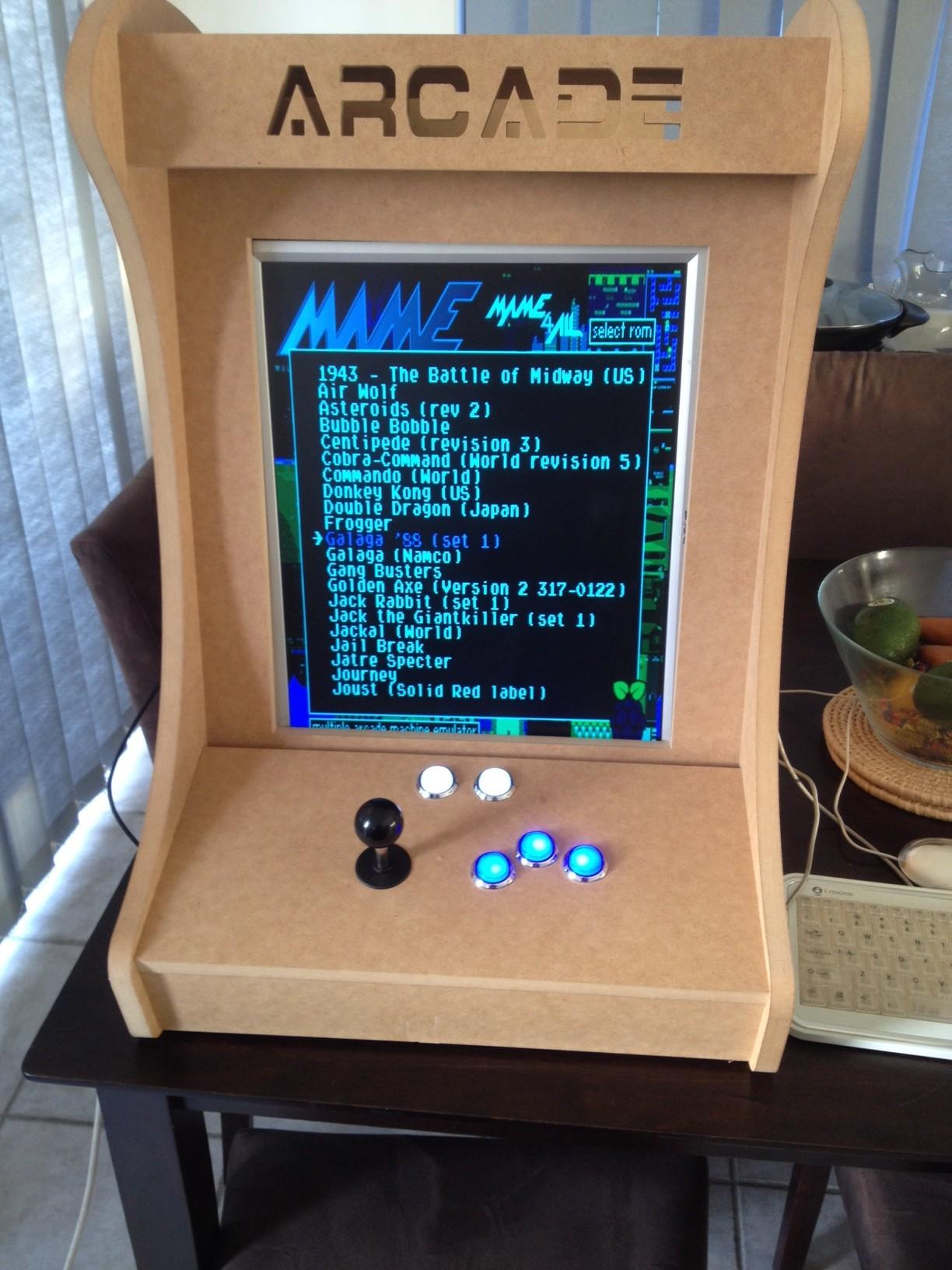 Emulator Arcade Cabinet Plans | MF Cabinets