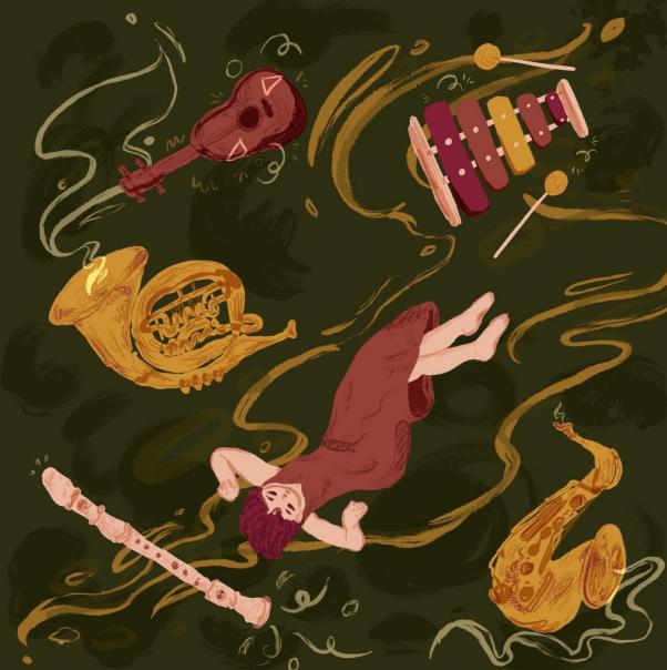Amanda Ong, EP artwork