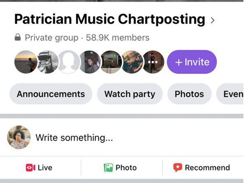 Patrician Music Chartposting