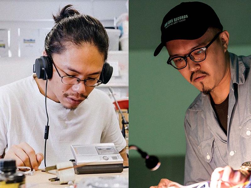 George Chua and Wu Jun Han
