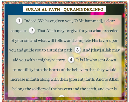 quranindex - Browse, Read, Listen, Download and Share #Surah