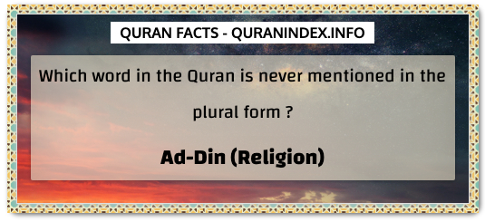 Discover Amazing, Interesting and Beautiful General Quran #Quotes and #Facts @ https://quranindex.info/blog/ [439] #Quran #Islam