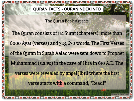 Discover Amazing, Interesting and Beautiful General Quran #Quotes and #Facts @ https://quranindex.info/blog/ [305] #Quran #Islam