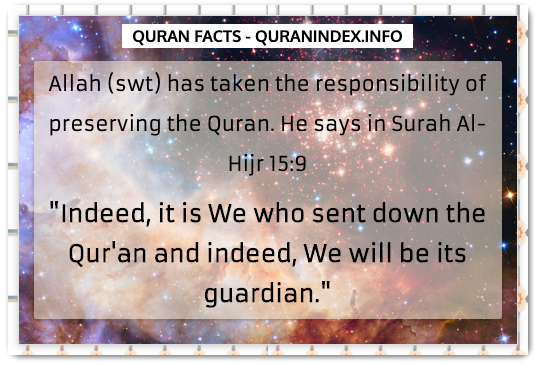 Discover Amazing, Interesting and Beautiful General Quran #Quotes and #Facts @ https://quranindex.info/blog/ [448] #Quran #Islam