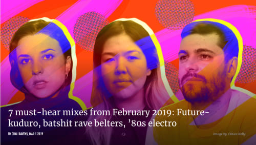 Nazira for Radio Cómeme is one of the must-hear mixes on FACT