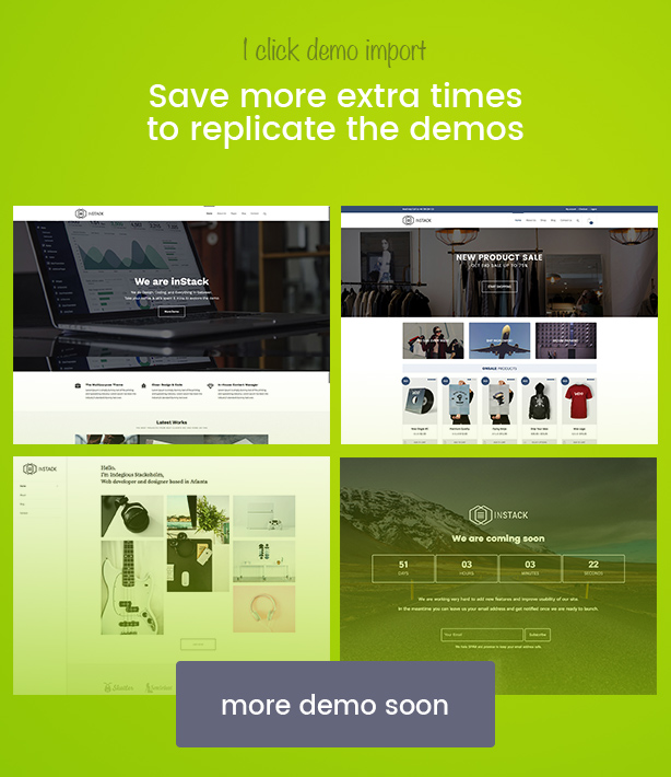 inStack - Responsive Multipurpose Business WordPress Theme