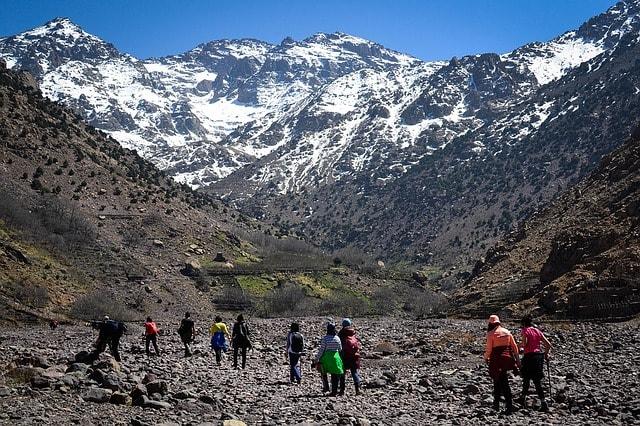 Jebel Toubkal - Atlas Mountains