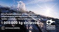 """Kotimaan Energia lahjoittaa tänä vuonna yli 200 000 euroa John Nurmisen Säätiön Puhdas Itämeri -hankkeille: """"Suurin kiitos kuuluu asiakkaillemme"""""""