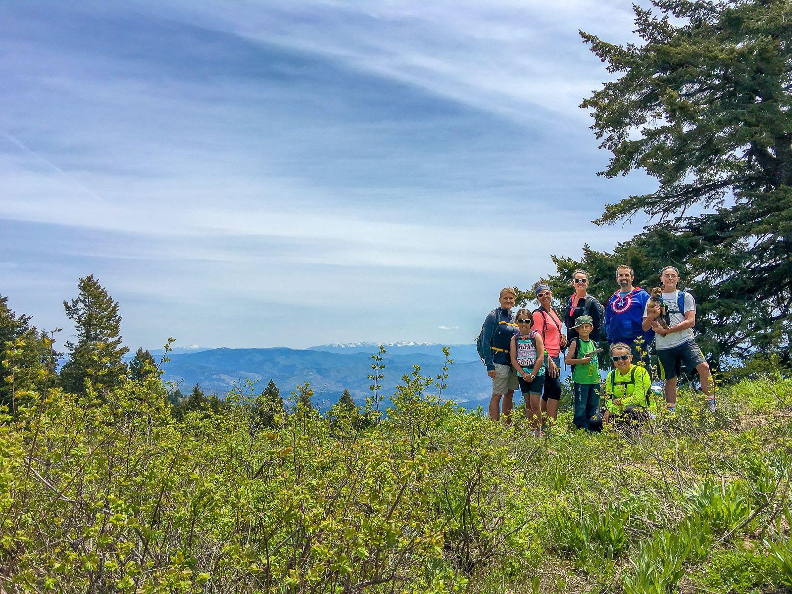 Bogus Basin Hike on Memorial Day