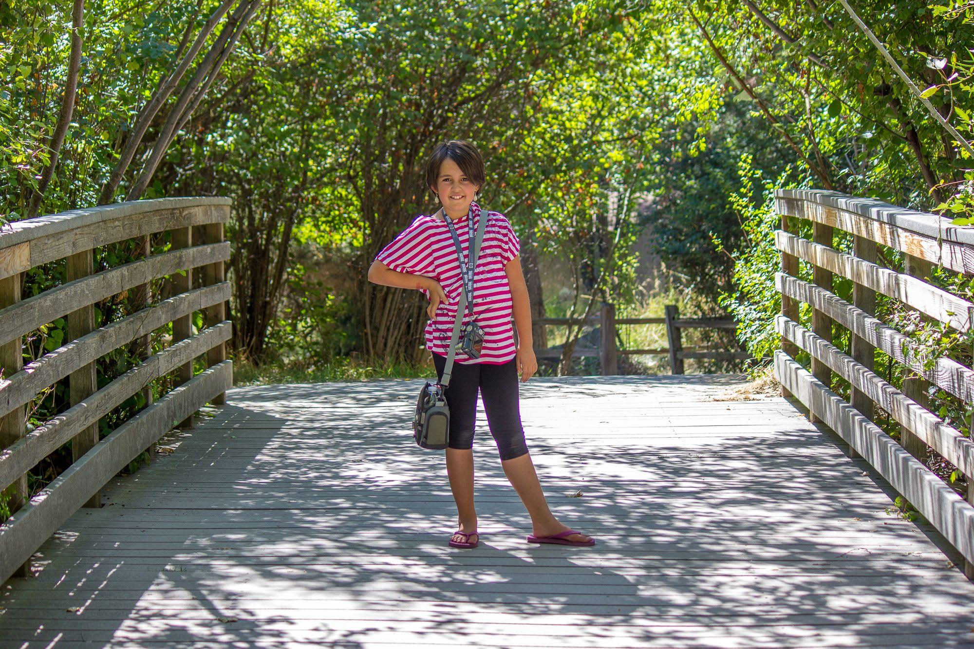 Daddy Daughter Photowalk - MK Nature Center