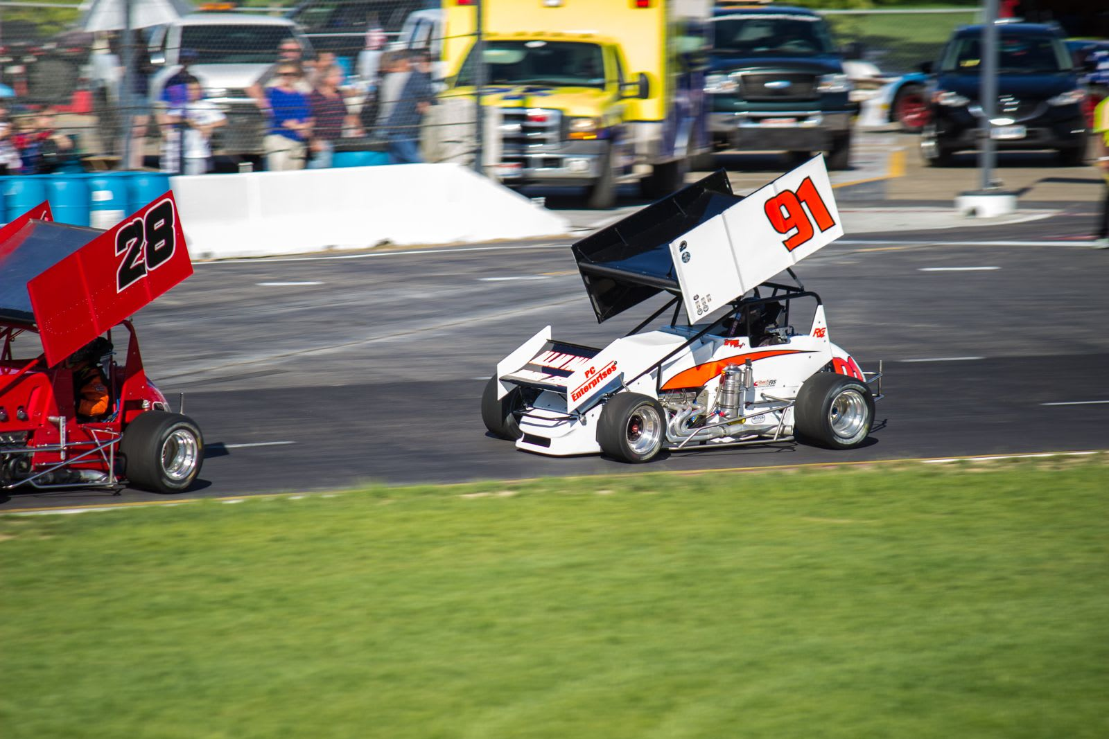 Races At Meridian Speedway