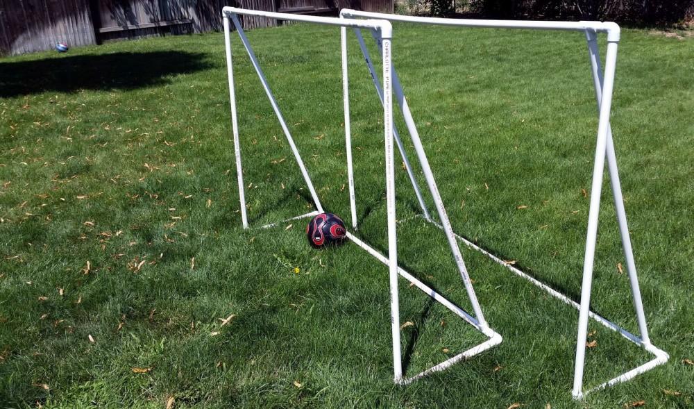DIY Soccer Goals