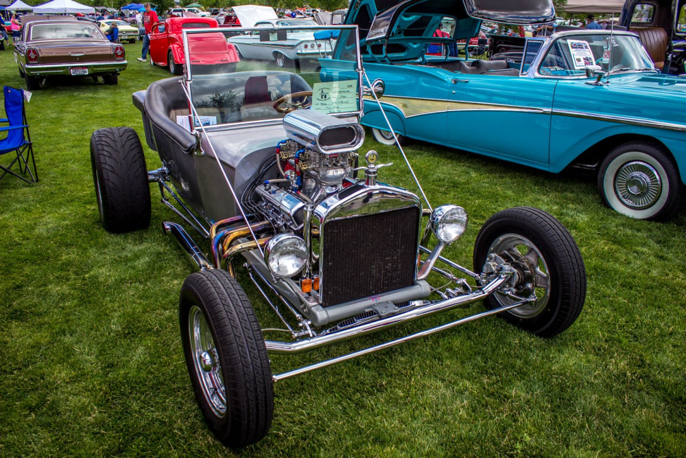 Hot Rods and Motorcycles