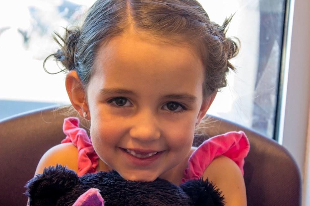 My Little Girl Gets Pierced Ears