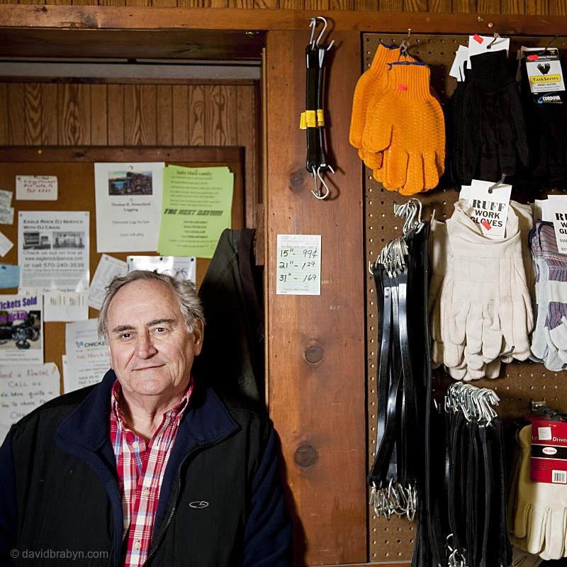 Ron Lockhart, deli owner, South Montrose, PA, USA