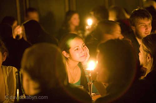 Candlelit Dinner, Magdalene College, Cambridge