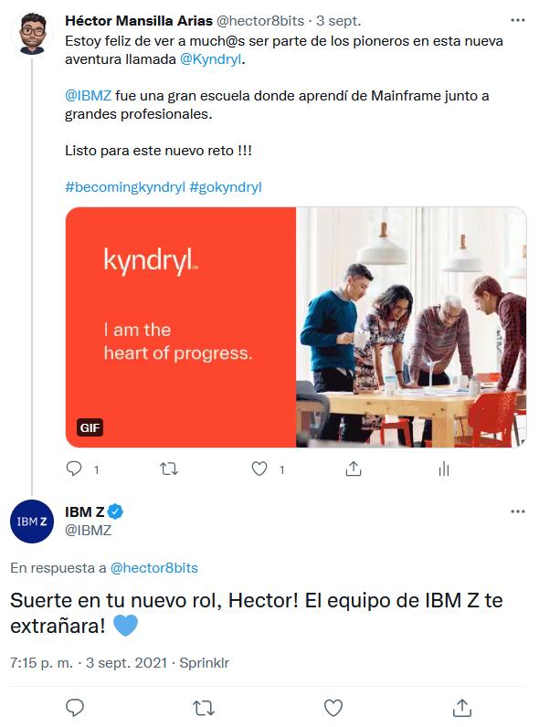 El Post y la respuesta del IBM Z Team