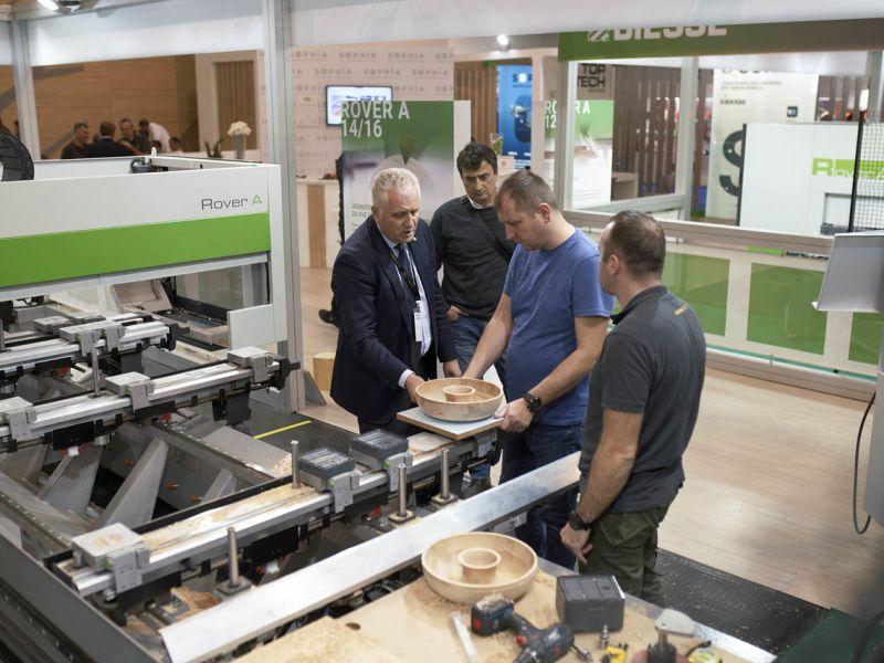 Foto galerija 57. Međunarodnog sajma mašina, alata i repromaterijala iz oblasti drvne industrije