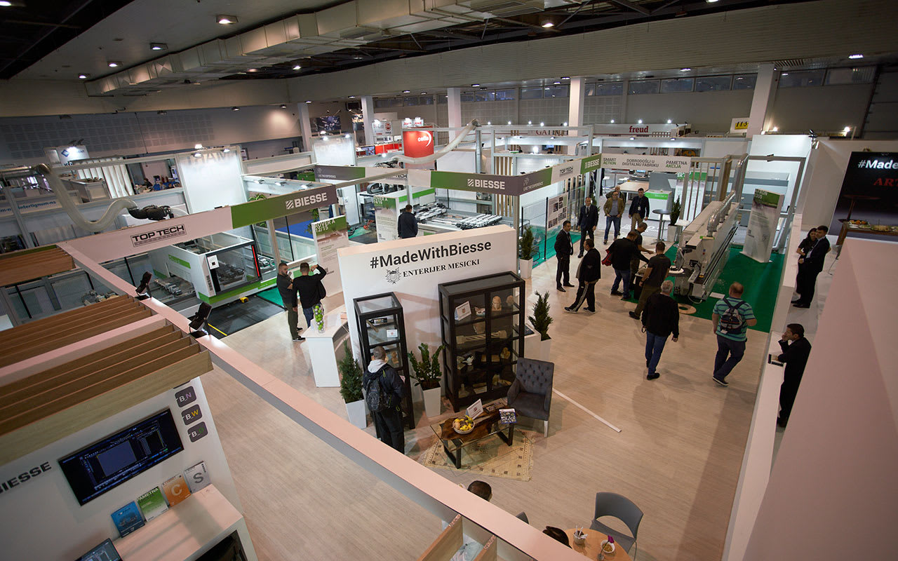 57th International Fair of Machines, Tools and Manufactures in the Wood Industry Completed