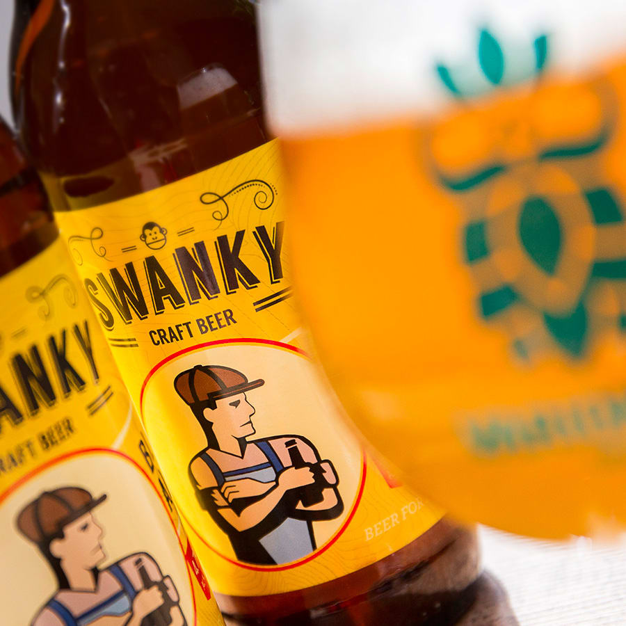 Swanky<br>Blonde<br>Ale