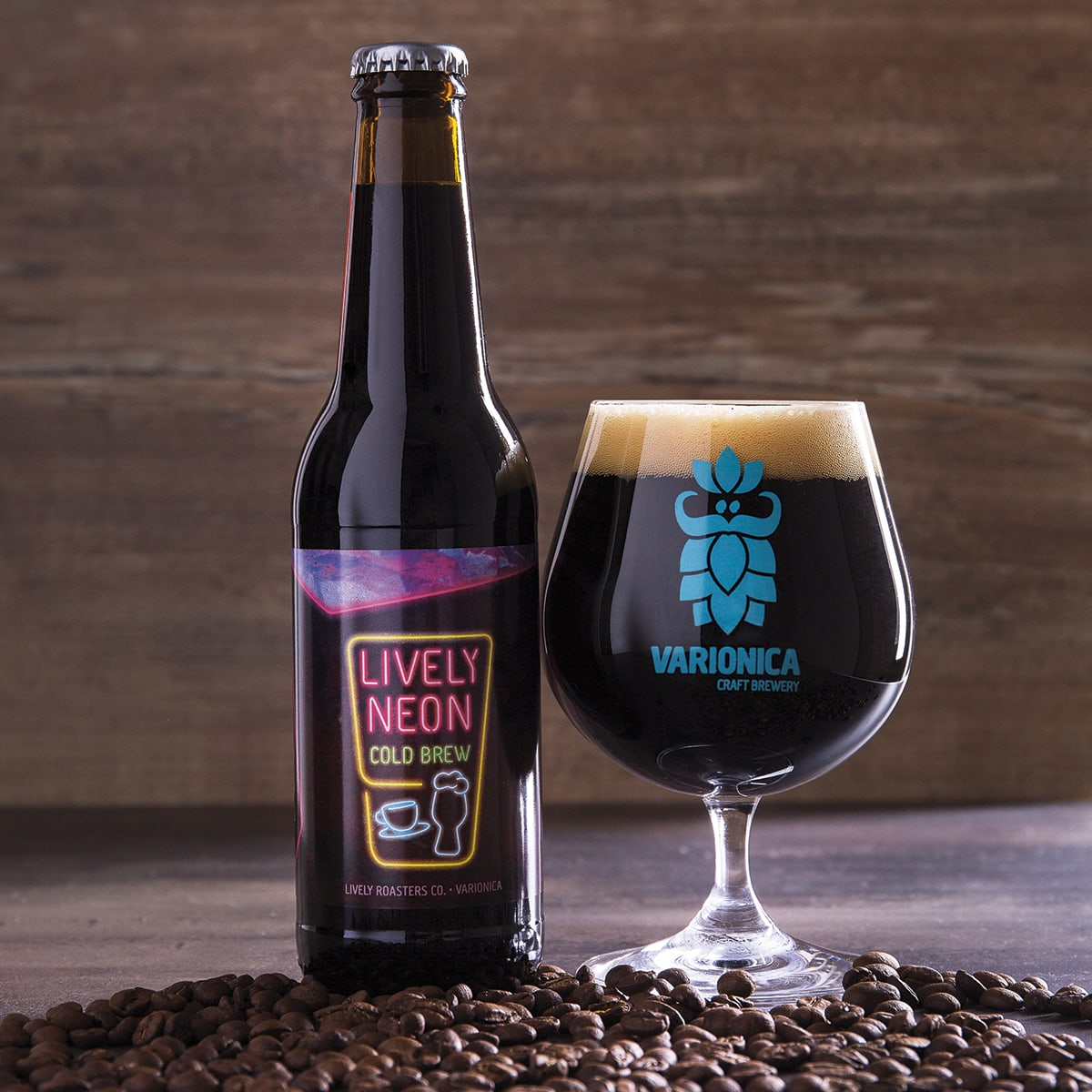 Lively Neon Cold Brew