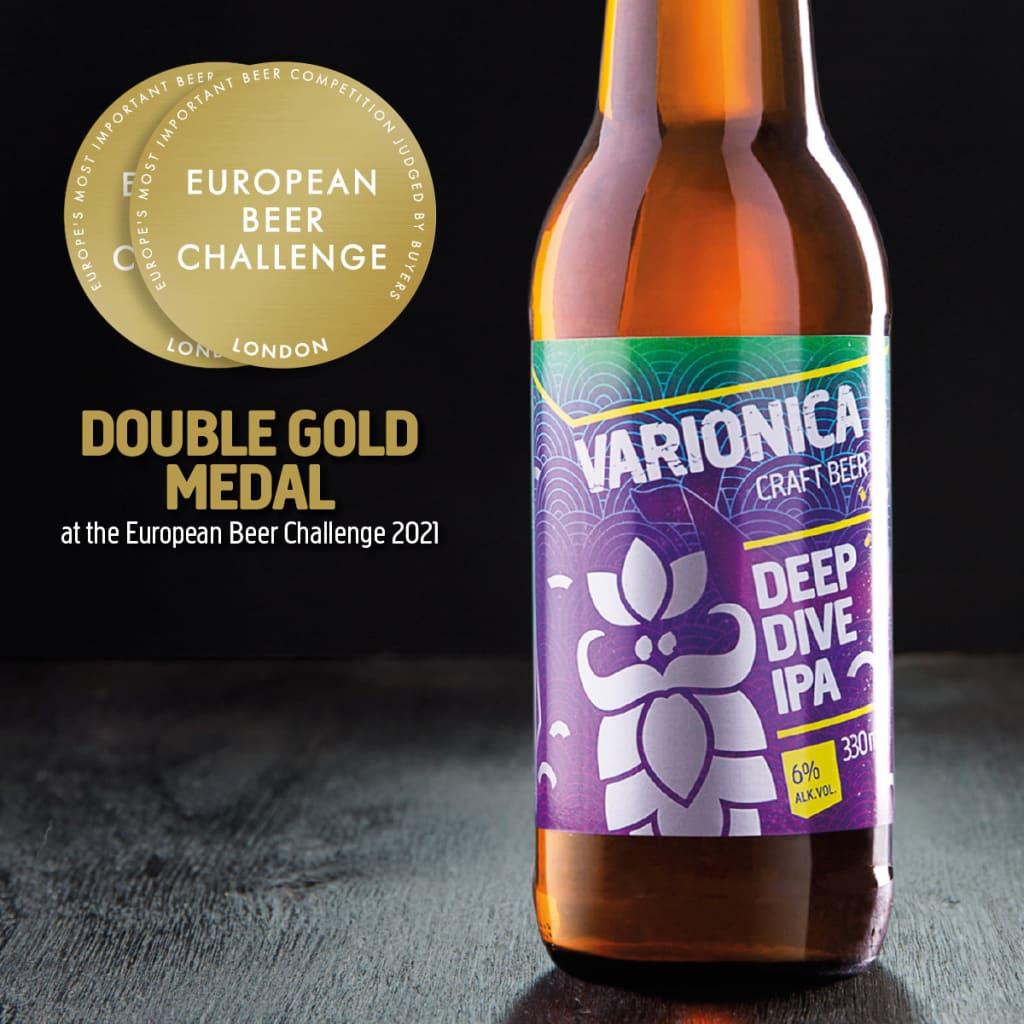 varionica craft beer craft pivo brewery deep dive double gold medal european beer challenge 2021 pivski oscar pivo za hedoniste beer for hedonists