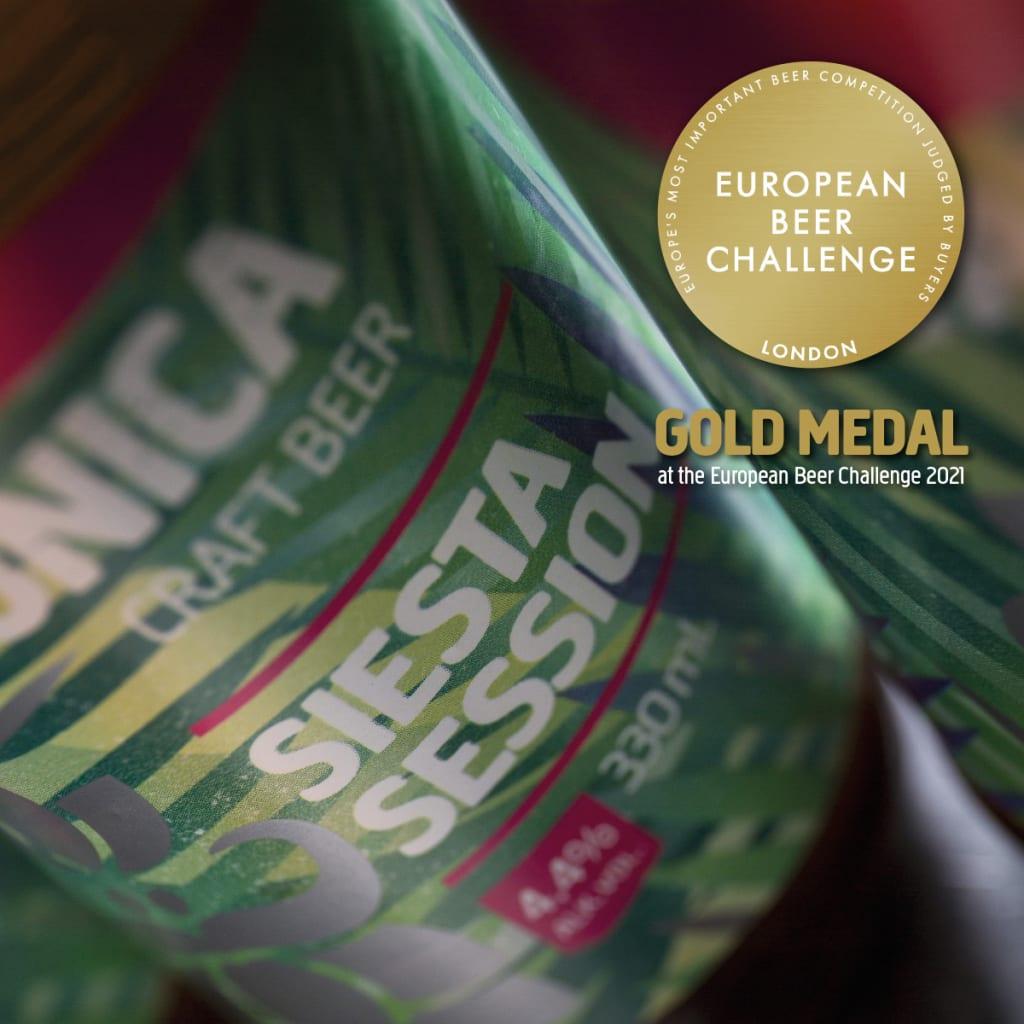 varionica craft beer craft pivo brewery siesta session ipa gold medal european beer challenge 2021 pivski oscar pivo za hedoniste beer for hedonists