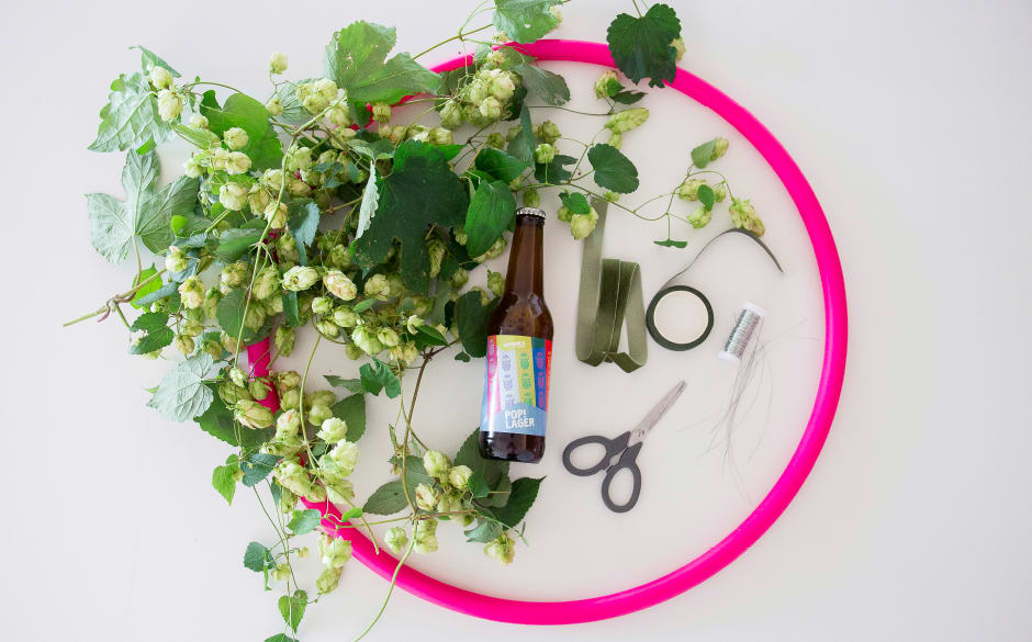Varionica craft brewery DIY hop hoop