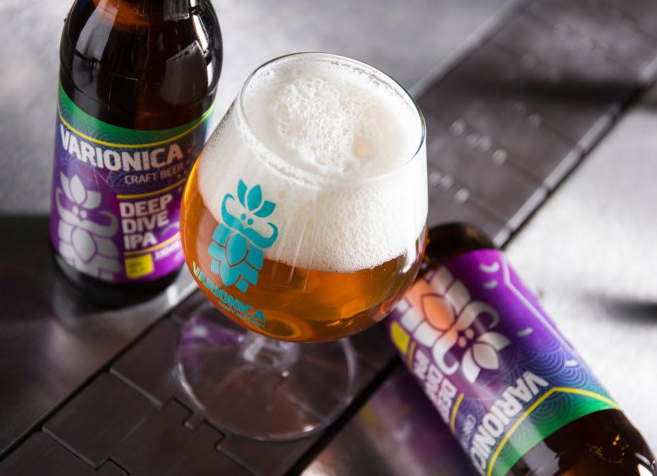 Deep dive IPA Varionica beer Varionica craft beer