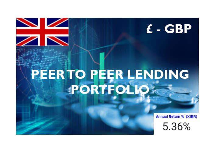 £ – GBP Peer to Peer Lending Portfolio