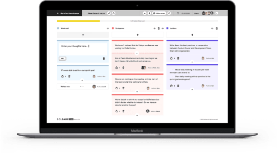Check out the Sprint Retrospective Tool - it's free